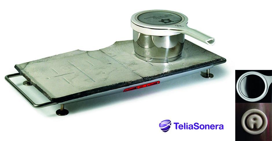 Telia raku-slide